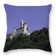 Marksburg Castle 25 Throw Pillow