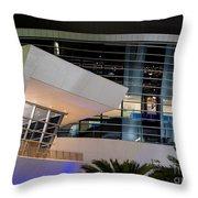 Marlins Park Stadium Miami 6 Throw Pillow