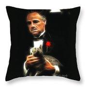Marlon Brando Throw Pillow