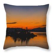 Marmalade Skys Throw Pillow