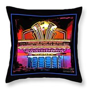 Marquee Throw Pillow