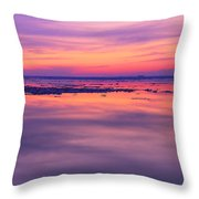 Marquette Sunset On Ice Throw Pillow
