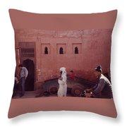Marrakesh Life Throw Pillow