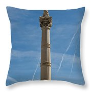 Marseilles Monument Throw Pillow