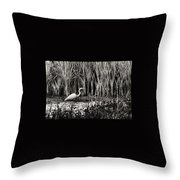 Marsh Hunter Throw Pillow