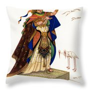 Marsh Kings Daughter Throw Pillow