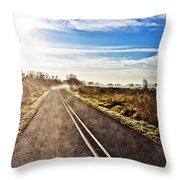 Marsh Road Throw Pillow