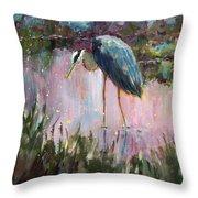 Marsh Time Throw Pillow