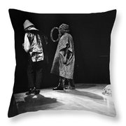 Marshall And Sonny 1968 Throw Pillow