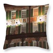 Marshall House Throw Pillow