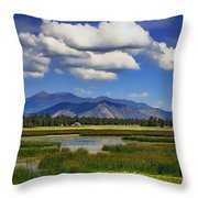 Marshall Lake Throw Pillow