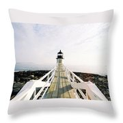 Marshall Point Approach  Throw Pillow