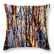Marshgrass Throw Pillow