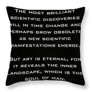 Martha Graham Throw Pillow