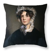 Martha Jefferson Randolph (1772-1836) Throw Pillow