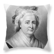 Martha Washington (1732-1802) Throw Pillow