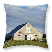 Martha's Vineyard Barn Throw Pillow