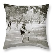 Martial Art Throw Pillow