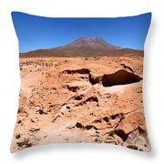 Martian Landscapes On Earth Throw Pillow