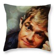 Martin Freeman Throw Pillow