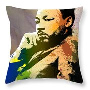 Martin Luther King Jr.  Throw Pillow