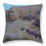 Martin Luther King Jr Memorial Throw Pillow