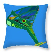 Martini Glass Throw Pillow