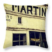 Martins General Store Throw Pillow