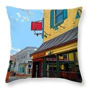 Martins Tavern Throw Pillow