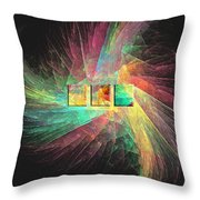 Marucii 237-03-13 Abstraction Throw Pillow