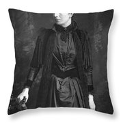 Mary Augusta Ward (1851-1920) Throw Pillow