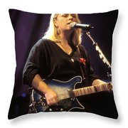 Mary Chapin Carpenter Throw Pillow