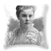 Mary Crowninshield Endicott Chamberlain Throw Pillow