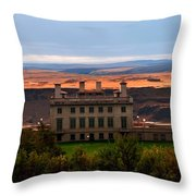 Mary Hill Museum Throw Pillow