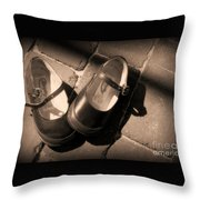 Mary Janes Throw Pillow