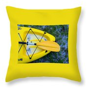 Mary Lee Where Are You Throw Pillow