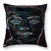 Mary Magdalene Sees Christ Is Risen Throw Pillow