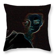 Mary Magdalene Sees The Empty Tomb Of Jesus Throw Pillow