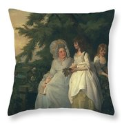Mary Margaret Wood And Two Throw Pillow