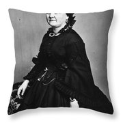 Mary Todd Lincoln (1818-1882) Throw Pillow