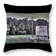 Maryland Country Roads - Why We Are Where We Are Throw Pillow