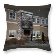 Maryland Library Proposal Throw Pillow