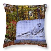 Maryland Monument At Gettysburg Throw Pillow