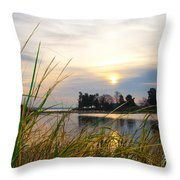 Maryland Morning Throw Pillow