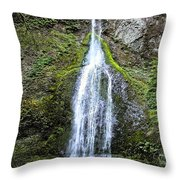 Marymere Falls Olympics Throw Pillow
