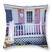 Mary's Kitchen House Throw Pillow