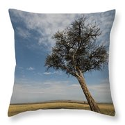 Masai Mara National Reserve Throw Pillow