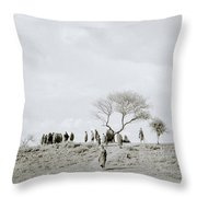 Iconic Africa Throw Pillow