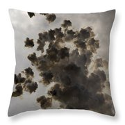 Mascleta Explosion Throw Pillow
