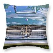 Maserati A6g 54 2000 Zagato Spyder 1955 Throw Pillow